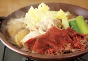 桜肉すき焼き
